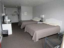 Double Room, Bishops Motel, Jackman, Maine